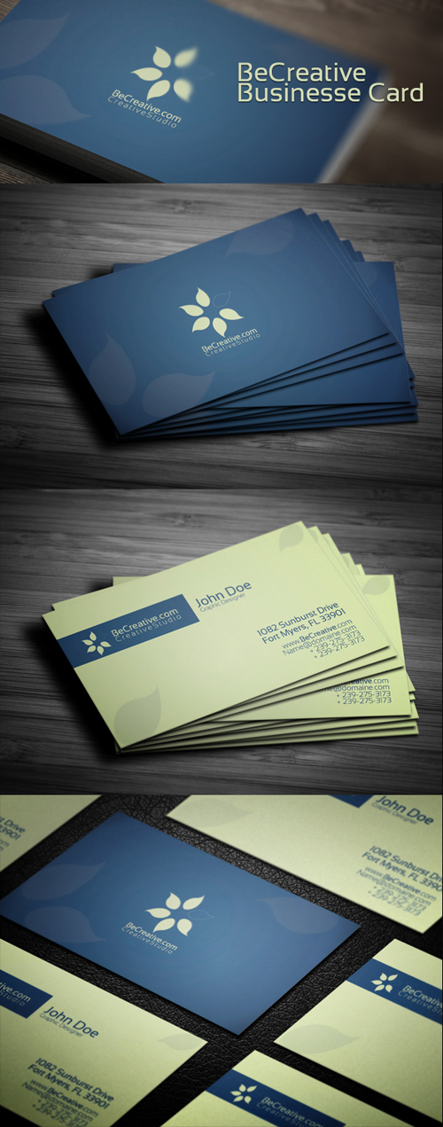 Be Creative Business Card