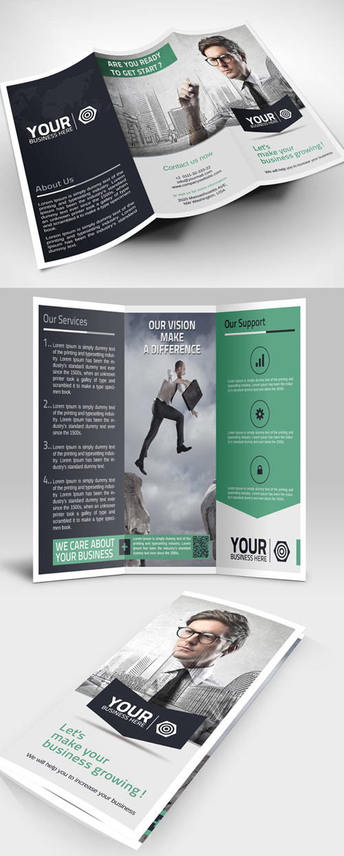 Creative Tri-Fold Corporate Brochure