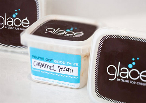 Glace Icecream Packaging Design