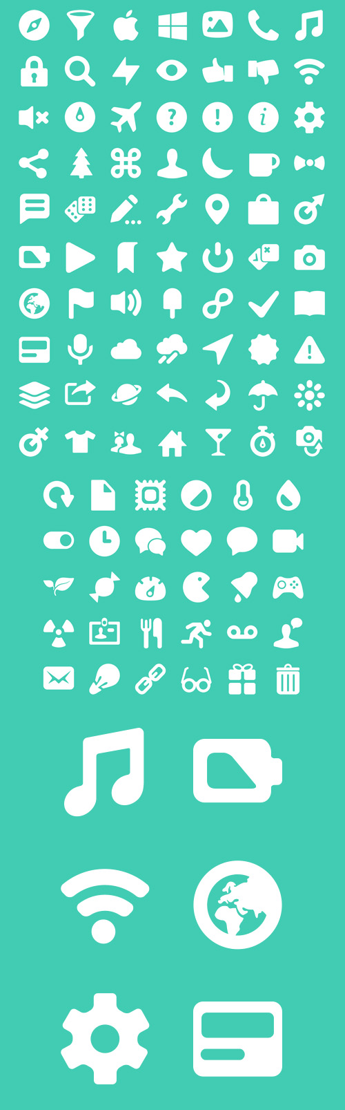 Pixel Perfect Icon Set