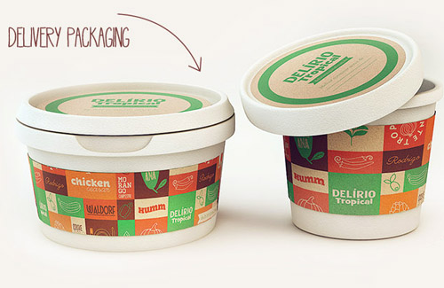 Delírio Tropical Packaging Design