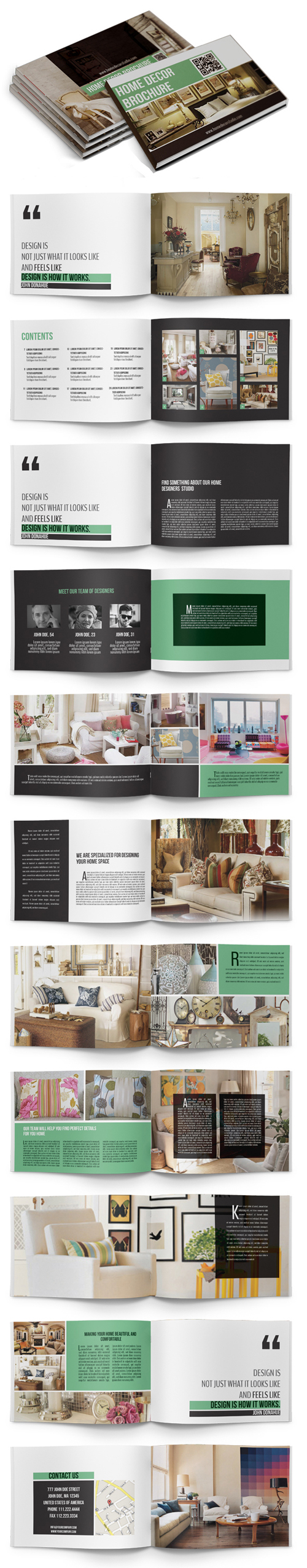 Home Decor Brochure