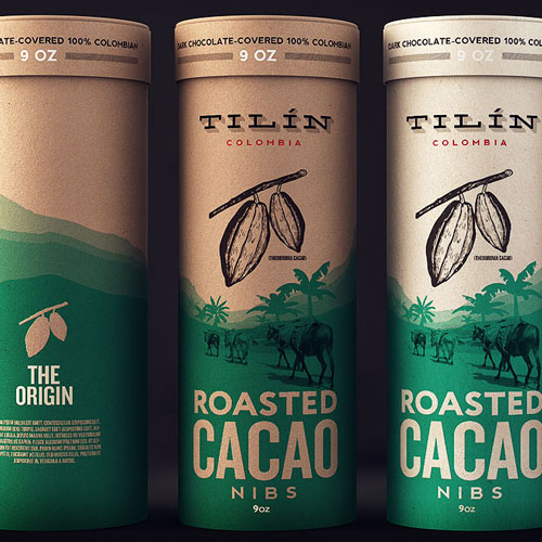 Tilín Cacao Packaging Design