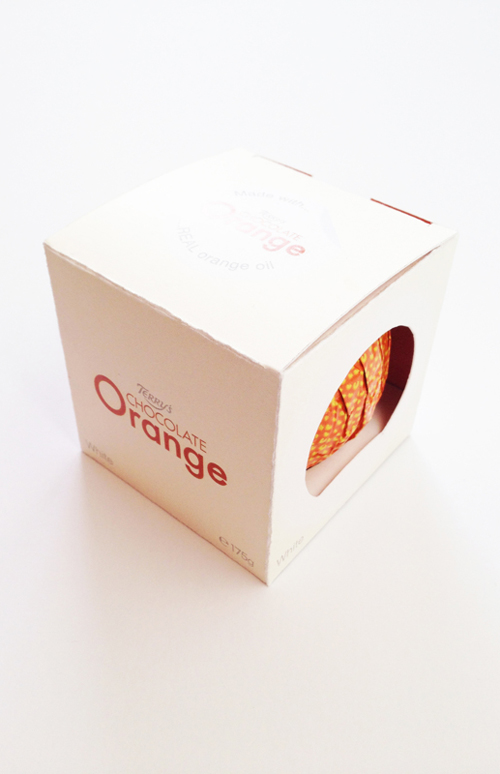 Terry's Chocolate Orange Packaging Design