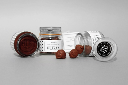 Trulin & Co. Chocolates Packaging Design