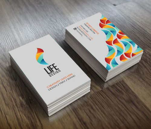 Creative examples of branding business card - 15