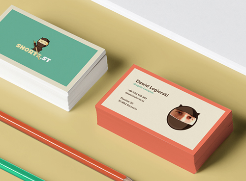 Creative examples of branding business card - 16