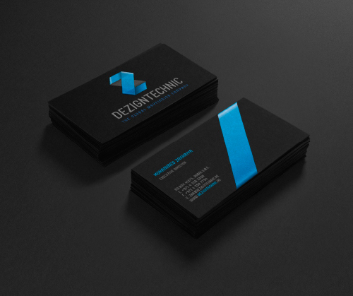 Creative examples of branding business card - 18