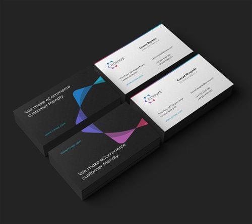 Creative examples of branding business card - 1