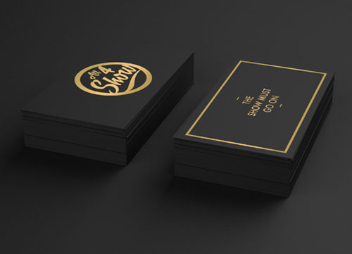 Creative examples of branding business card - 2