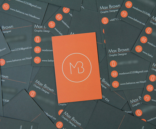Creative examples of branding business card - 8