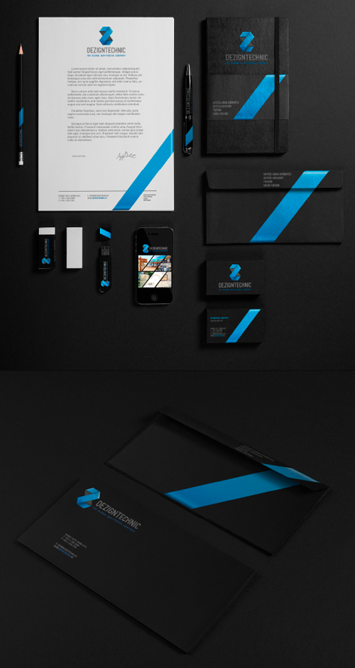 Creative examples of branding stationary - 18