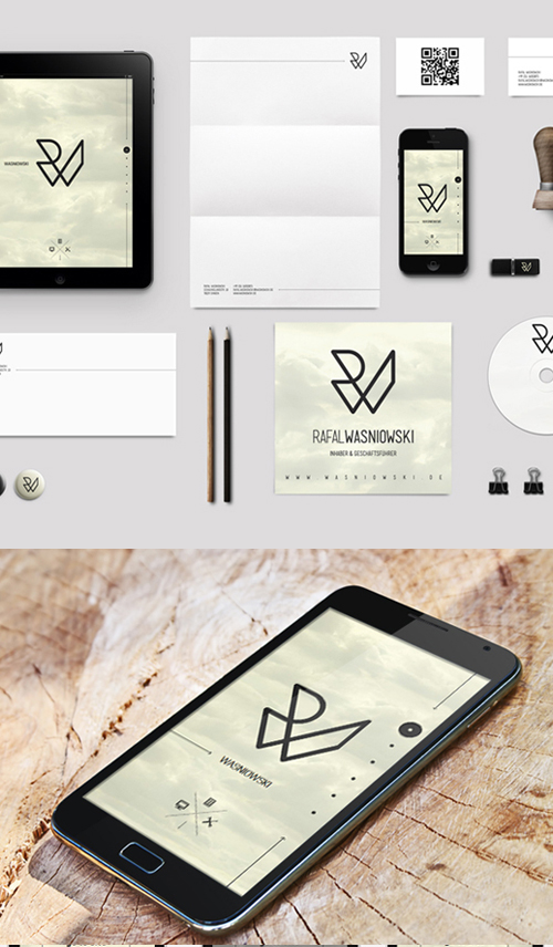 Creative examples of branding stationary - 23