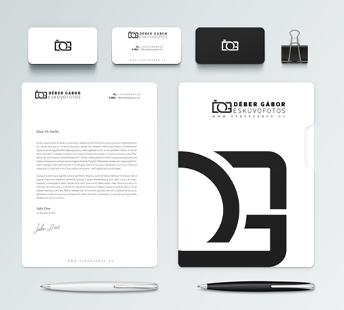 Creative examples of branding stationary - 26