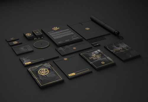 Creative examples of branding stationary - 2