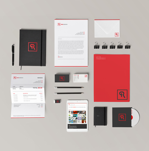 Creative examples of branding stationary - 5