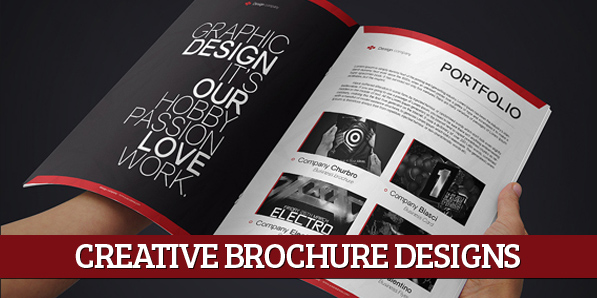 Creative Print Ready Business Brochure Designs  Design