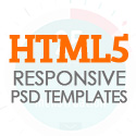 Post thumbnail of New HTML5 Responsive Templates