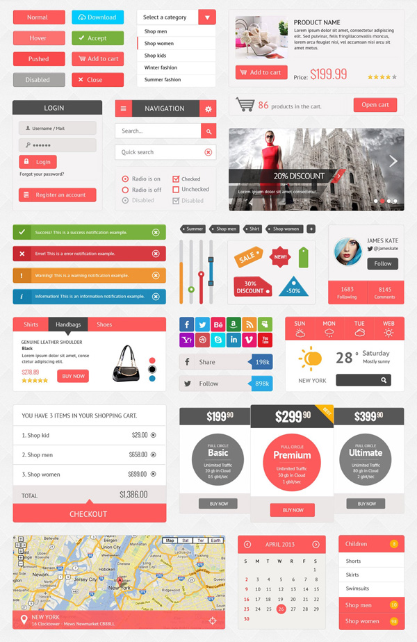 SHOPPING UI KIT