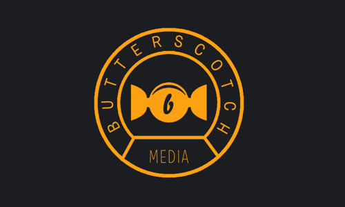 butterscotch media branding #logo #design