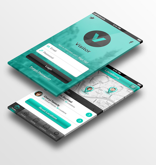 Modern App Sign In UI and Login UI Screen Designs-31