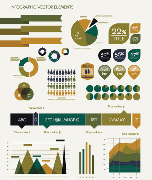Infographic Vector Elements Vector Graphic - 7