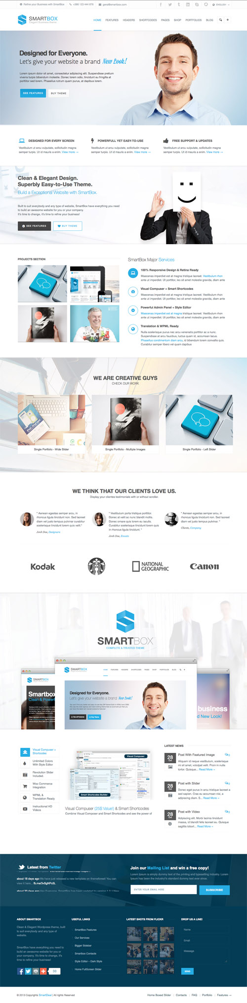 SmartBox PSD Template