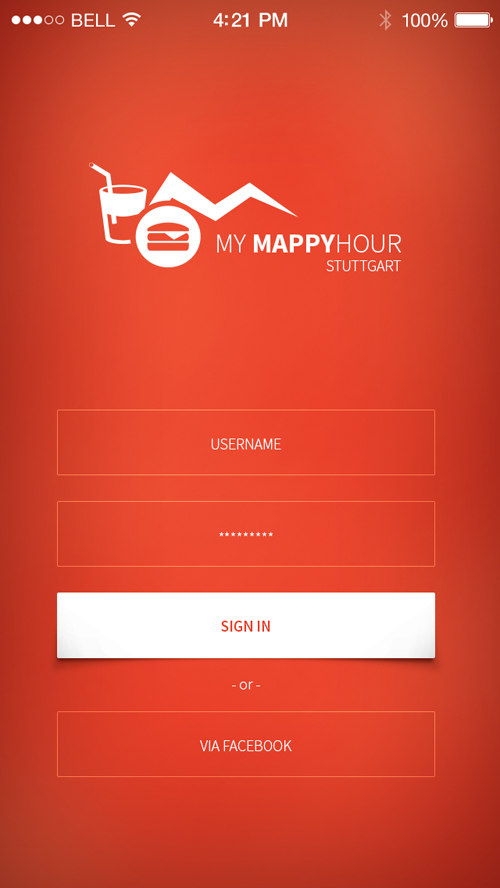 Sign in login ui designs inspiration graphic design for New app ideas for iphone