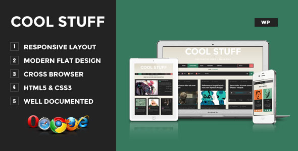 Cool Stuff Premium WordPress Theme