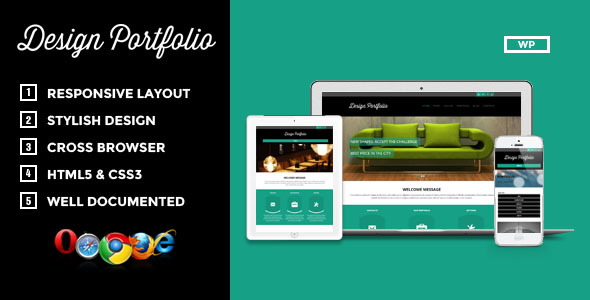 Design Portfolio Premium WordPress Theme