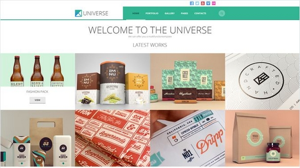 Universe Premium WordPress Theme