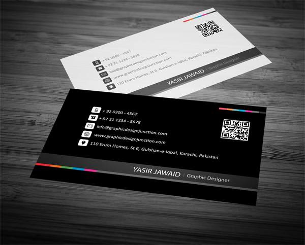 Free business card mockup psd freebies graphic design junction creative business card white black front reheart Image collections