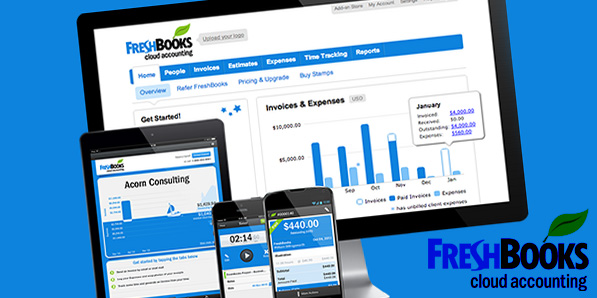 Move Your Business to the Cloud with FreshBooks