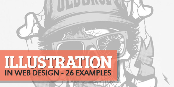 Illustration in Web Design – 26 Fresh Examples
