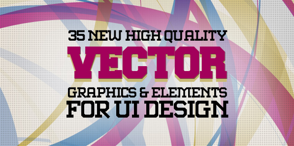 35 New Vector Graphics and Vector Elements for UI Design