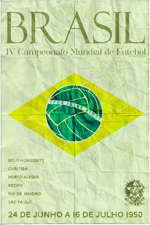 Fifa World Cup 1950 Poster