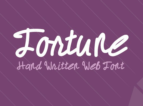 Fortune Font