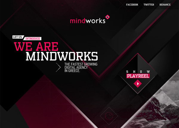 Mindworks digital agency #CSS3 #website #design