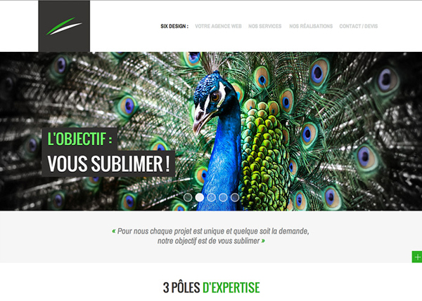 Six Design #CSS3 #website #design