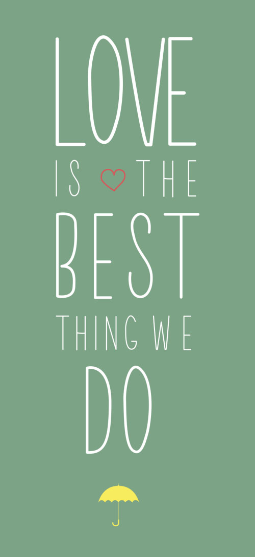 Love is the Best thing...