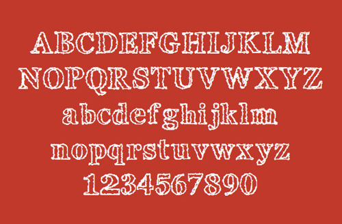 Whitely Scribble Font