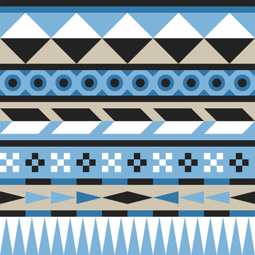 How to Create an Easy Geometric Aztec Pattern in Inkscape