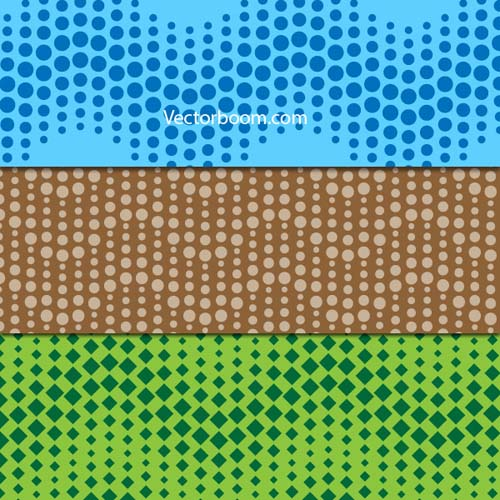 Create wavy dotted seamless pattern in Illustrator Tutorial