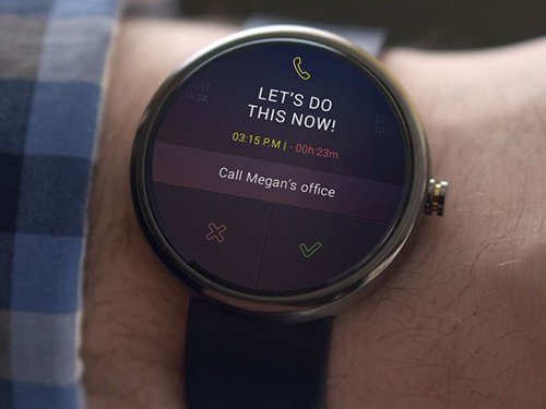 Android Wear - Planner