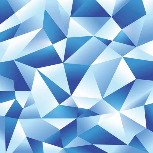 How To Create an Icy Blue Vector Geometric Pattern in Illustrator