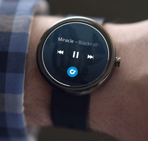 Android Wear Rdio app