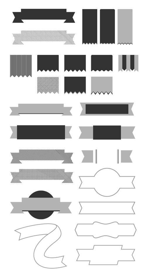 Minimal Vector Ribbons