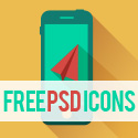 Post thumbnail of Free PSD Icons: 26 Sets Of Flat Vector Icons for Designers