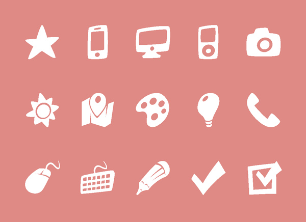 Free Vector Icons for Mobile UI and Web Designs