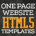 Post thumbnail of HTML5 One Page Website Templates with UI/UX Experience